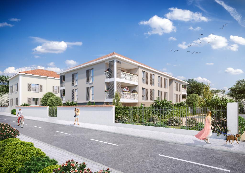 Appartement neuf Miribel 5 pièce(s) 110,93 m2 + jardin 201 m²